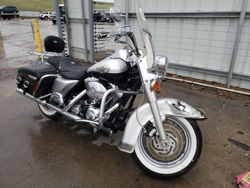 Salvage cars for sale from Copart Littleton, CO: 2003 Harley-Davidson Flhrci ANN
