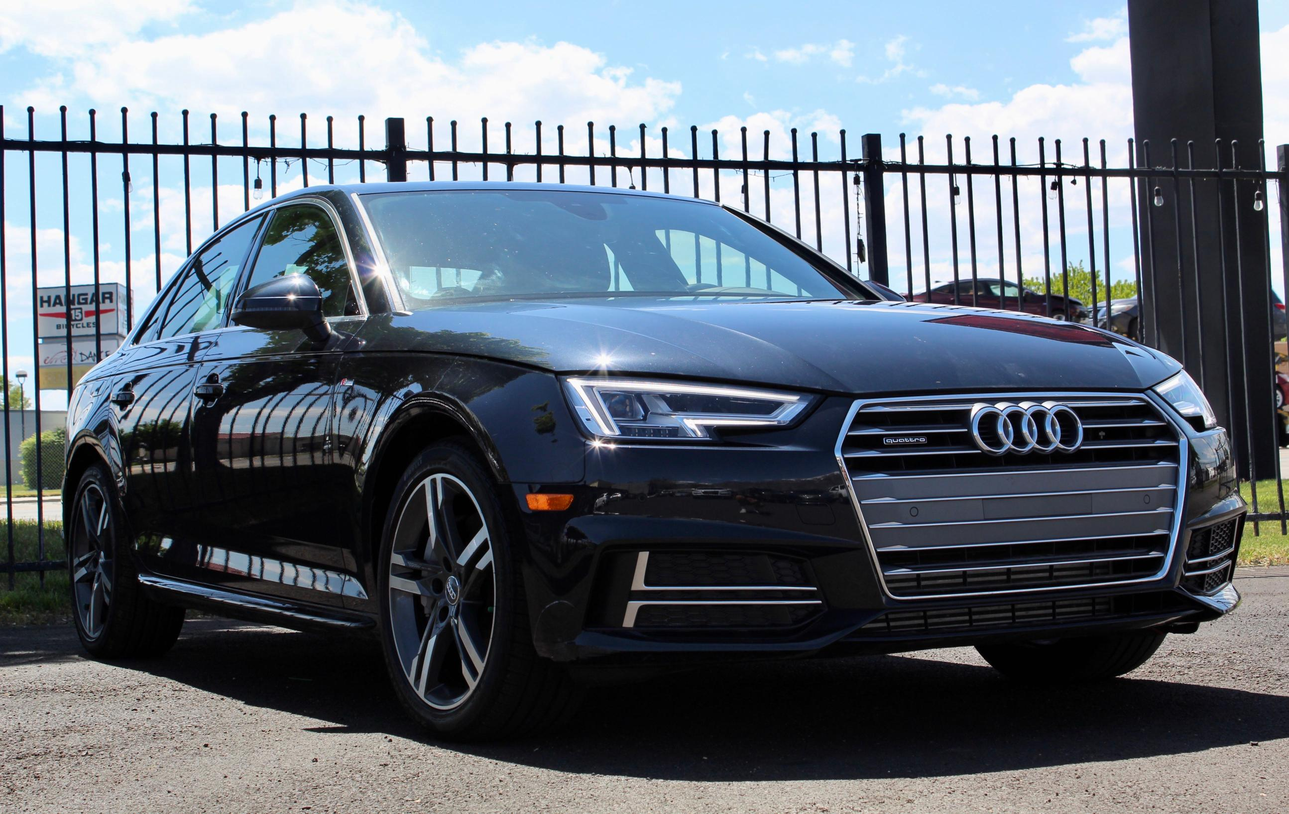 Salvage cars for sale from Copart Magna, UT: 2018 Audi A4 Premium