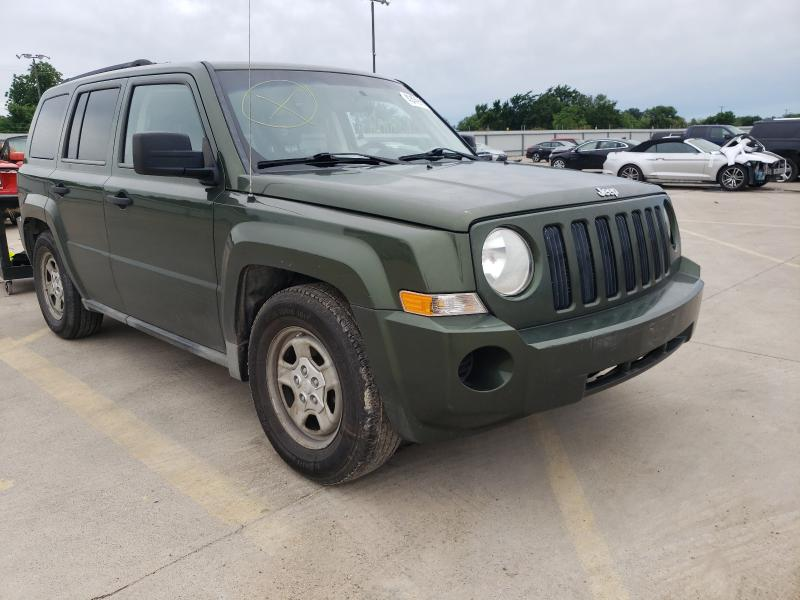 Salvage cars for sale from Copart Wilmer, TX: 2009 Jeep Patriot SP