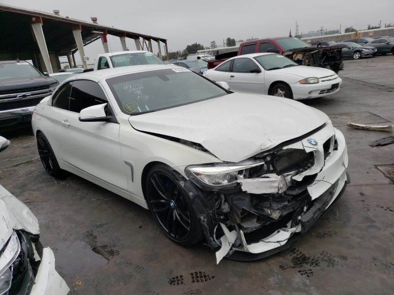 BMW 428 I Sulev salvage cars for sale: 2015 BMW 428 I Sulev