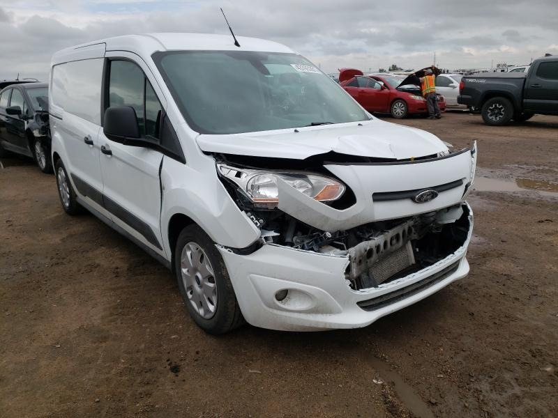 Salvage trucks for sale at Brighton, CO auction: 2016 Ford Transit CO