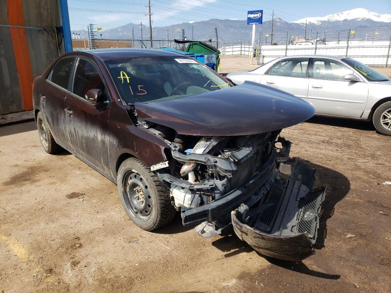 Salvage cars for sale from Copart Colorado Springs, CO: 2010 KIA Forte EX