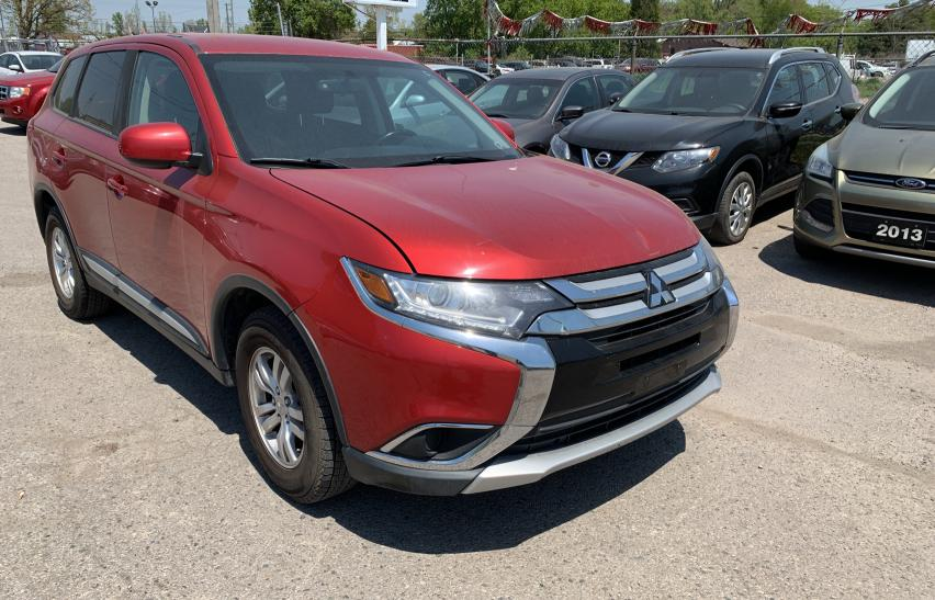Salvage cars for sale from Copart London, ON: 2017 Mitsubishi Outlander