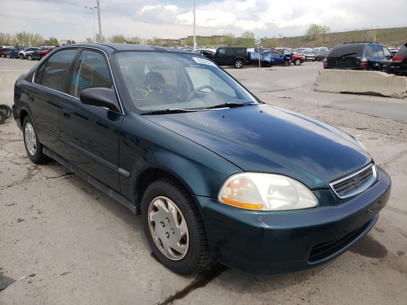 Honda salvage cars for sale: 1996 Honda Civic LX