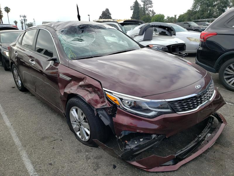 Salvage cars for sale from Copart Van Nuys, CA: 2019 KIA Optima LX