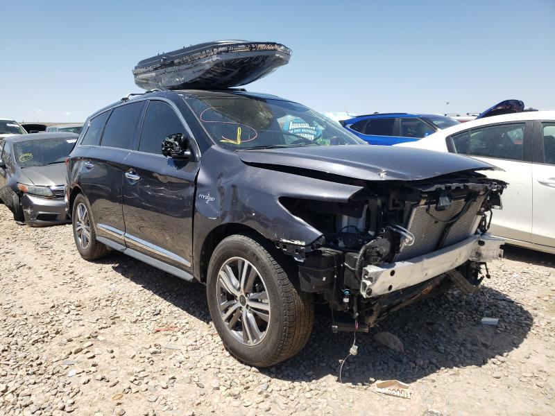 Infiniti Vehiculos salvage en venta: 2020 Infiniti QX60 Luxe