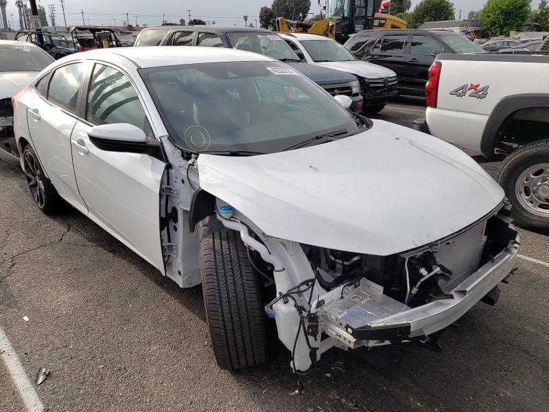 Vehiculos salvage en venta de Copart Van Nuys, CA: 2020 Honda Civic Sport