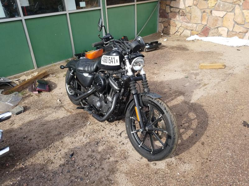 Salvage cars for sale from Copart Colorado Springs, CO: 2017 Harley-Davidson XL883 Iron