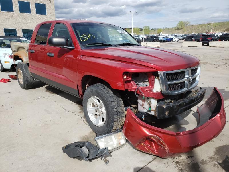 Dodge salvage cars for sale: 2008 Dodge Dakota Quattro