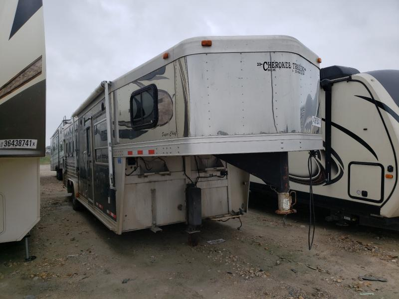 Forest River salvage cars for sale: 2001 Forest River Horse Trailer