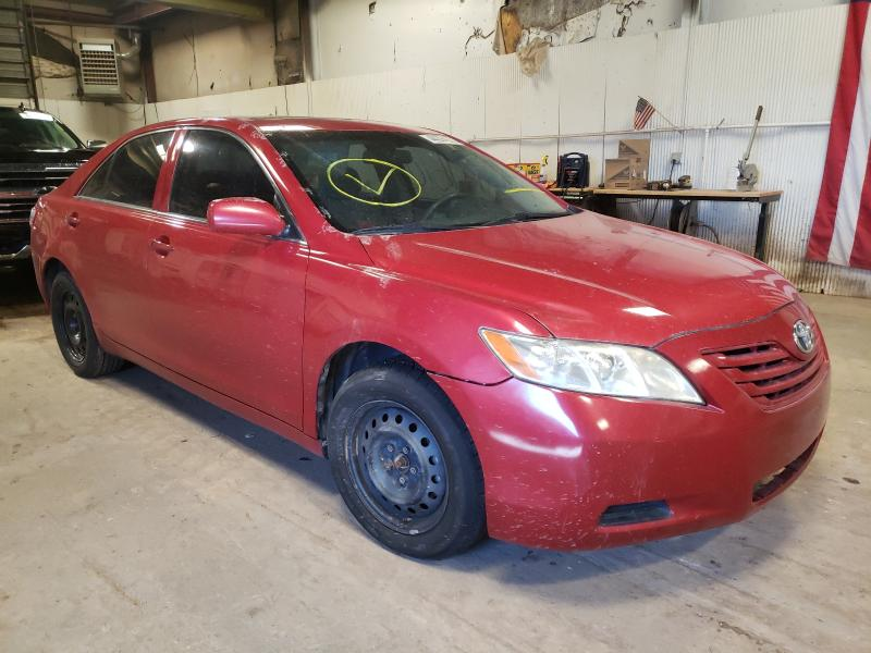 Salvage cars for sale from Copart Casper, WY: 2007 Toyota Camry LE