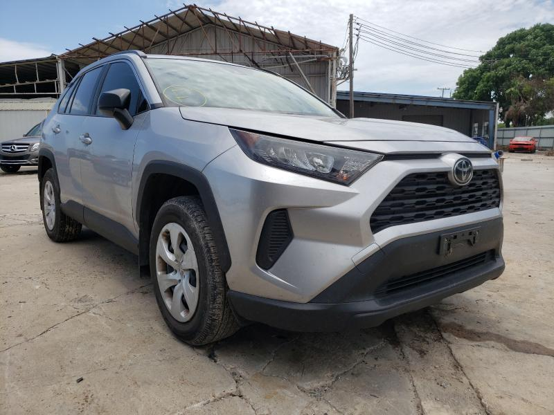 Salvage cars for sale from Copart Corpus Christi, TX: 2019 Toyota Rav4 LE
