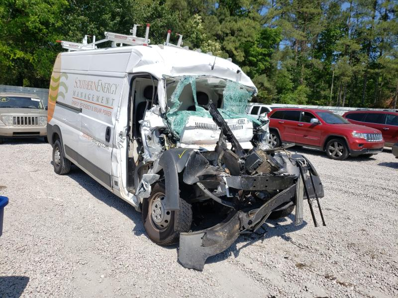 Salvage cars for sale from Copart Knightdale, NC: 2019 Dodge RAM Promaster