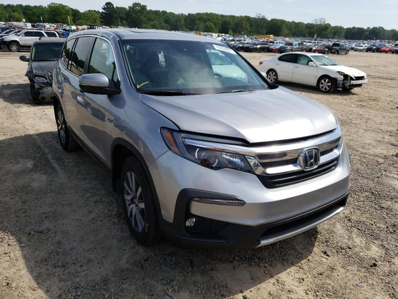 Salvage cars for sale at Conway, AR auction: 2021 Honda Pilot EXL