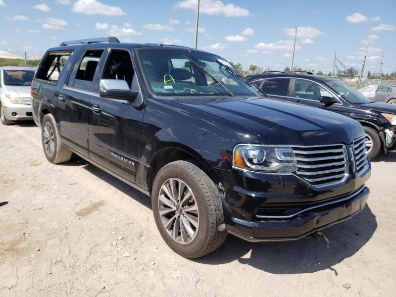 Salvage cars for sale from Copart West Palm Beach, FL: 2017 Lincoln Navigator