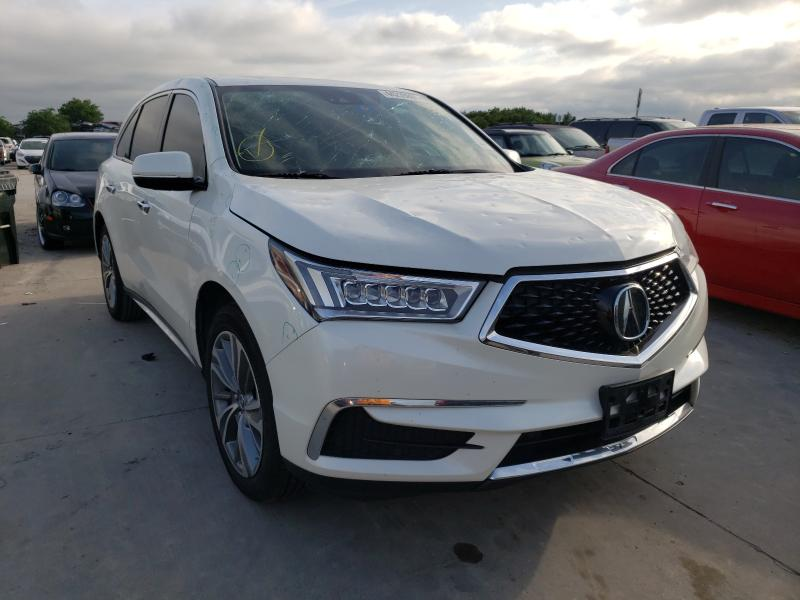 2017 Acura MDX Techno en venta en Grand Prairie, TX
