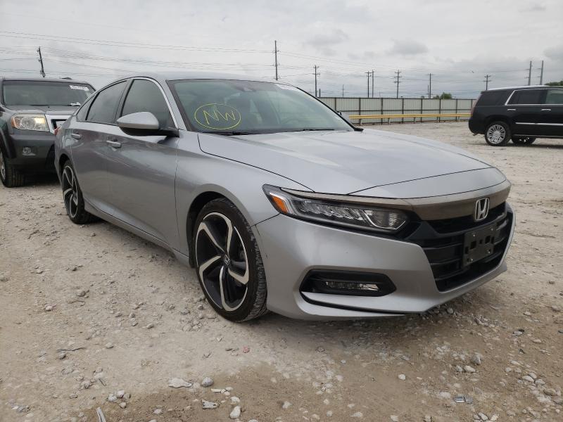 Vehiculos salvage en venta de Copart Haslet, TX: 2019 Honda Accord Sport