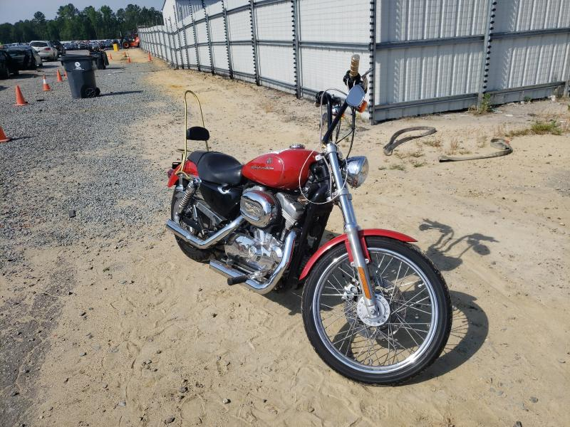 Harley-Davidson XL883 C salvage cars for sale: 2004 Harley-Davidson XL883 C