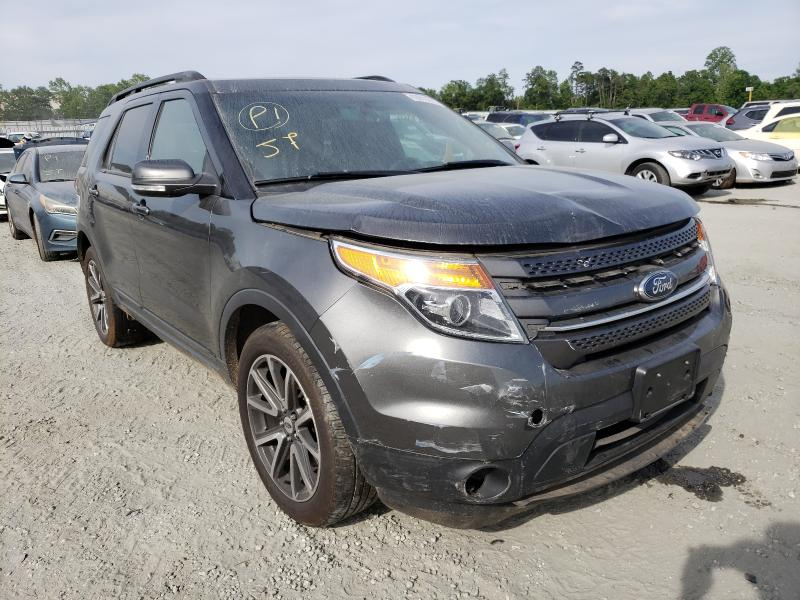 Vehiculos salvage en venta de Copart Spartanburg, SC: 2015 Ford Explorer X