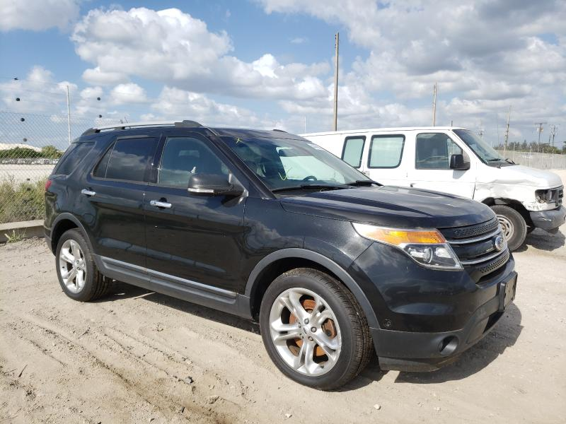 Salvage cars for sale from Copart West Palm Beach, FL: 2013 Ford Explorer L