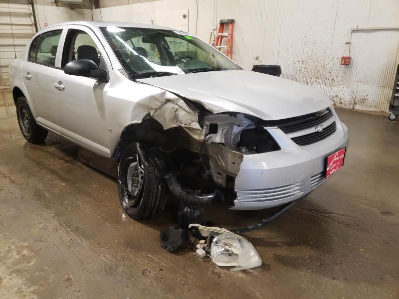 Salvage cars for sale from Copart Casper, WY: 2007 Chevrolet Cobalt LS