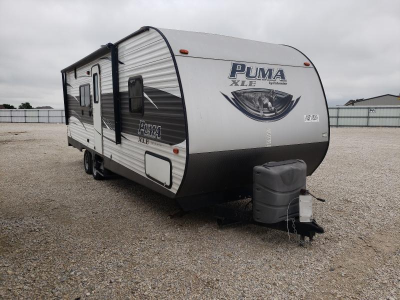 Puma Trailer salvage cars for sale: 2016 Puma Trailer