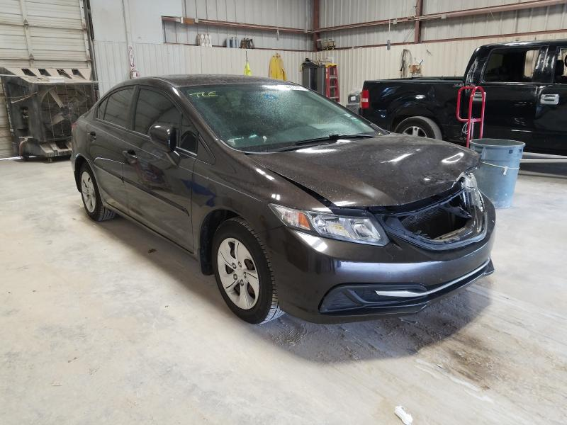 Salvage cars for sale from Copart Abilene, TX: 2014 Honda Civic LX