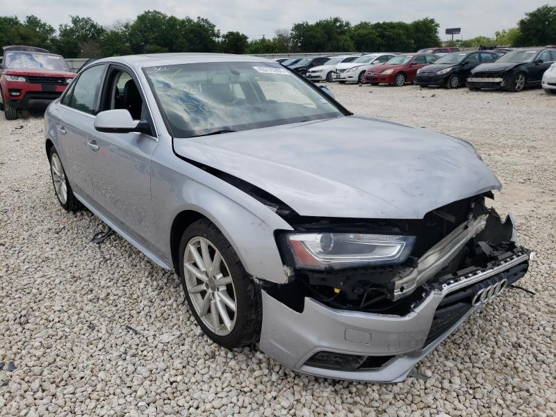 Salvage 2015 AUDI A4 - Small image. Lot 43775281