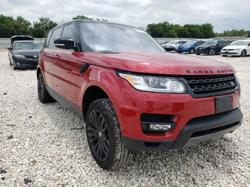 Salvage cars for sale from Copart New Braunfels, TX: 2017 Land Rover Range Rover