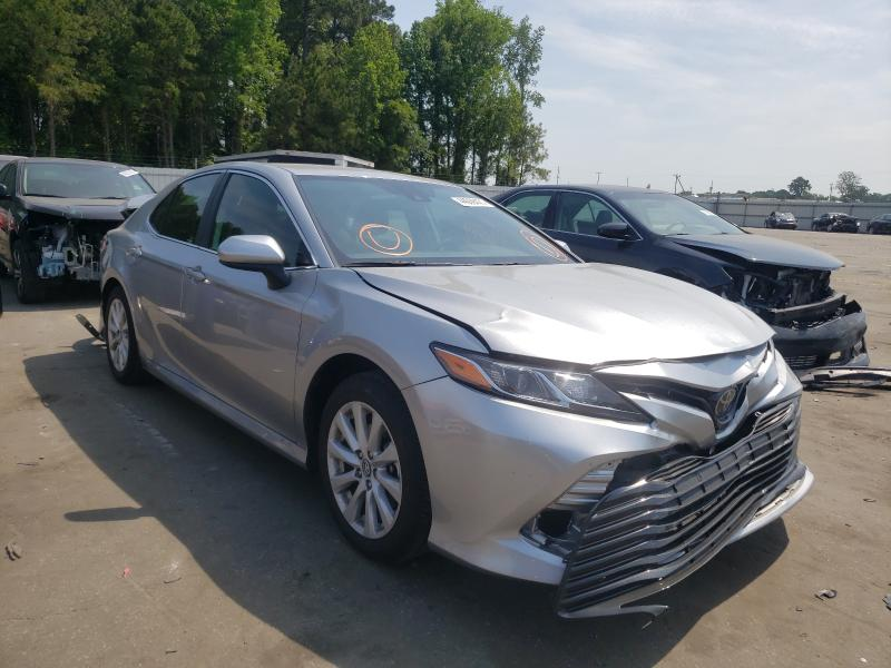 Salvage cars for sale from Copart Dunn, NC: 2020 Toyota Camry LE