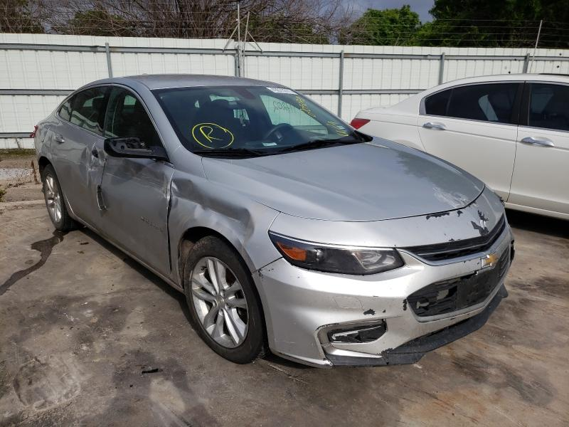 Salvage cars for sale from Copart Corpus Christi, TX: 2017 Chevrolet Malibu LT