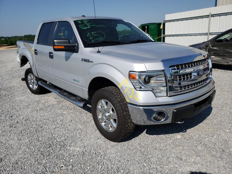 Salvage cars for sale from Copart Gastonia, NC: 2014 Ford F150 Super