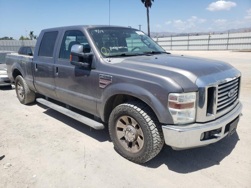 Salvage cars for sale from Copart Van Nuys, CA: 2009 Ford F250 Super