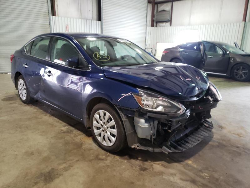 Vehiculos salvage en venta de Copart Lufkin, TX: 2019 Nissan Sentra S
