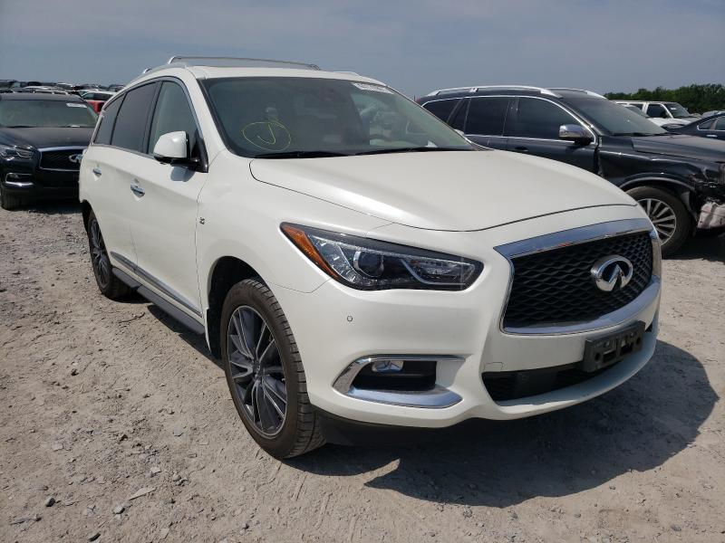 Salvage cars for sale from Copart Madisonville, TN: 2017 Infiniti QX60