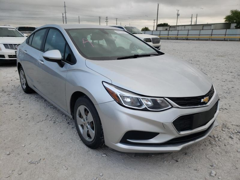 Salvage cars for sale from Copart Haslet, TX: 2017 Chevrolet Cruze LS
