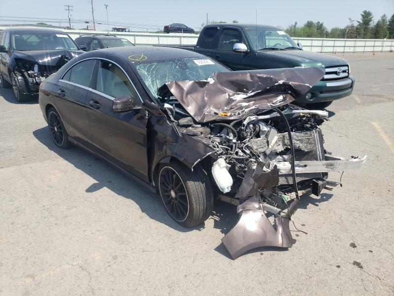 Salvage cars for sale from Copart Pennsburg, PA: 2014 Mercedes-Benz CLA 250 4M