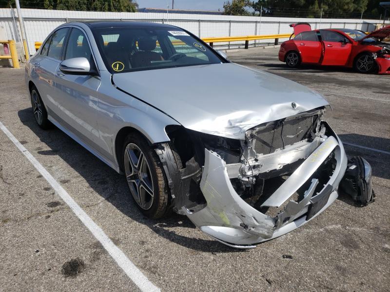 Mercedes-Benz Vehiculos salvage en venta: 2019 Mercedes-Benz C300