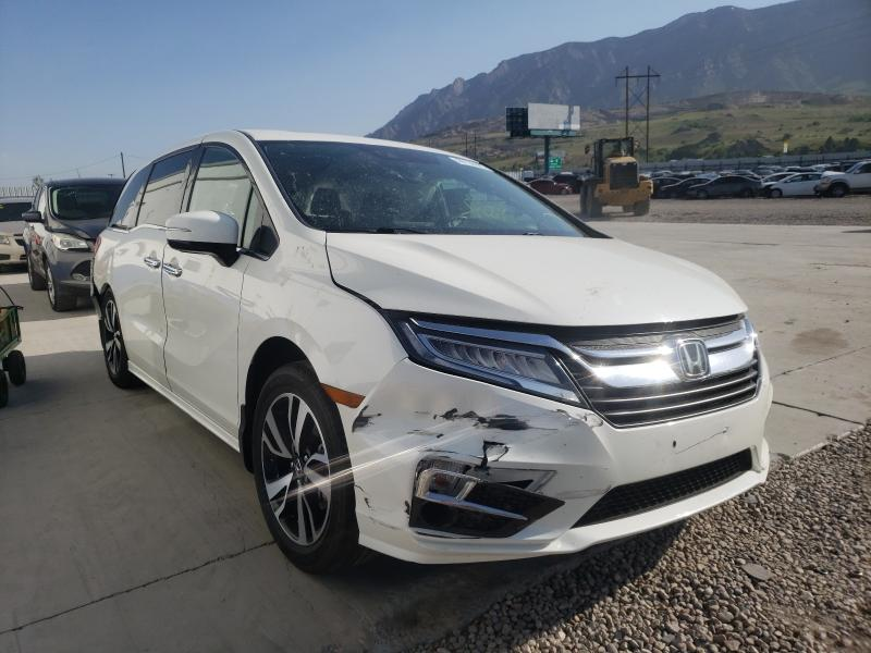Salvage cars for sale from Copart Farr West, UT: 2019 Honda Odyssey EL