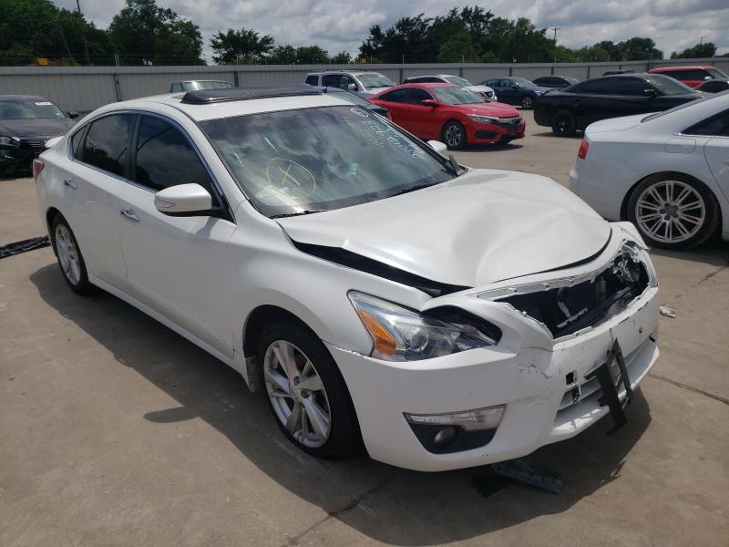 Salvage cars for sale from Copart Wilmer, TX: 2013 Nissan Altima 2.5