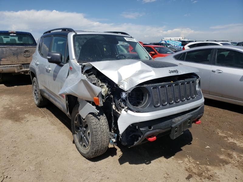 Salvage cars for sale from Copart Brighton, CO: 2017 Jeep Renegade T