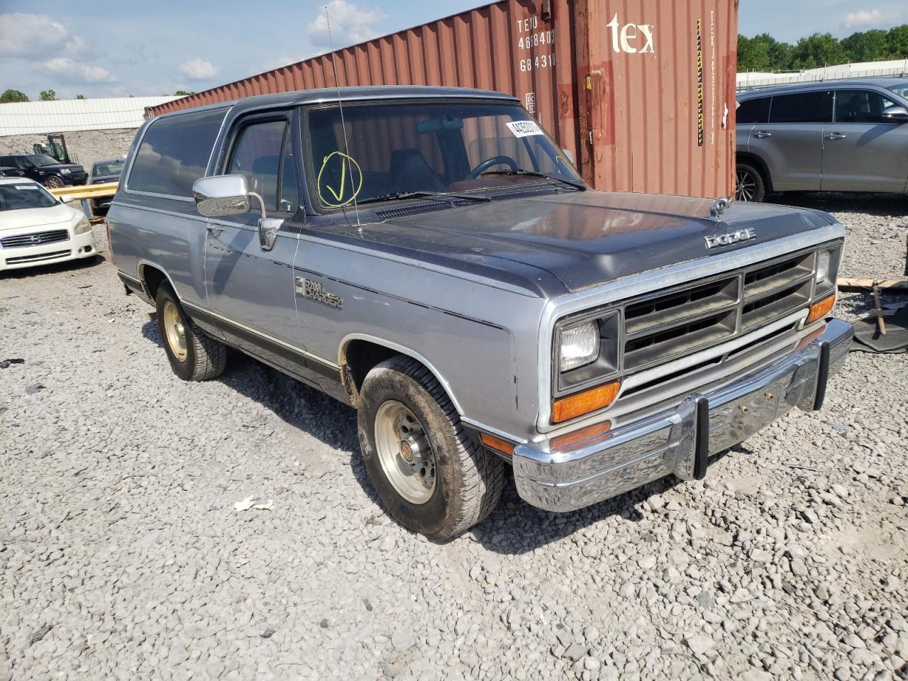 1989 DODGE RAMCHARGER - 3B4GE17Y0KM905546