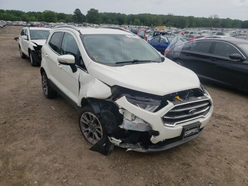 Salvage cars for sale at Conway, AR auction: 2020 Ford Ecosport T