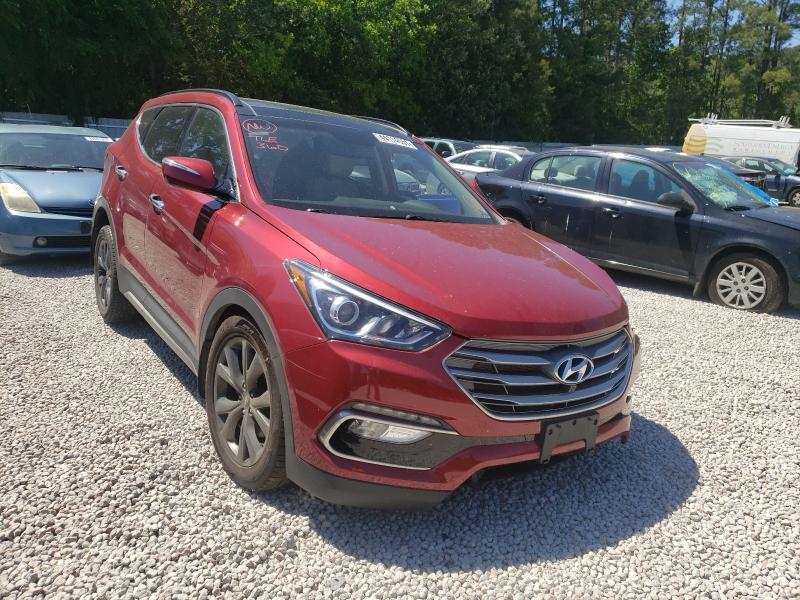 Hyundai Santa FE salvage cars for sale: 2017 Hyundai Santa FE