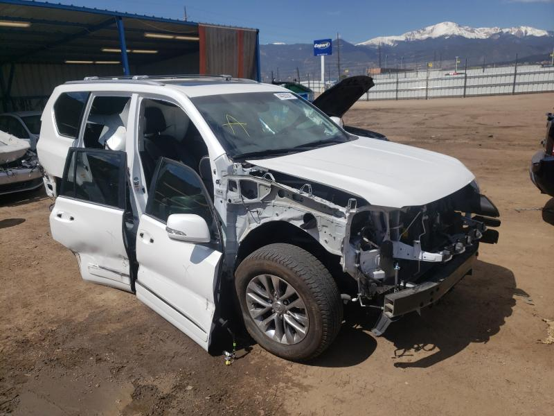 Salvage cars for sale from Copart Colorado Springs, CO: 2016 Lexus GX 460 PRE