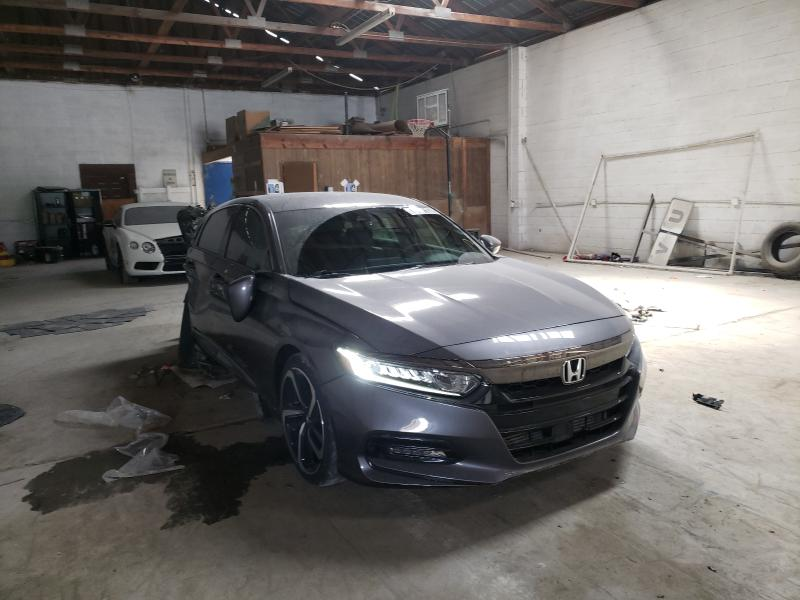 Salvage cars for sale from Copart Cartersville, GA: 2019 Honda Accord Sport