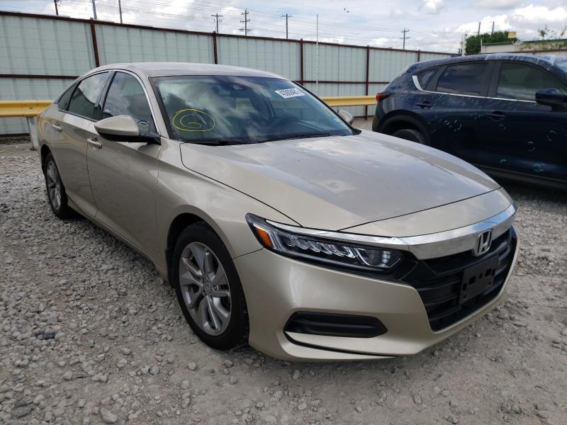 Vehiculos salvage en venta de Copart Haslet, TX: 2019 Honda Accord LX