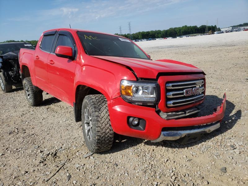 Vehiculos salvage en venta de Copart Memphis, TN: 2016 GMC Canyon SLE
