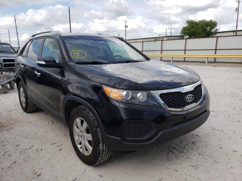 Salvage cars for sale from Copart Haslet, TX: 2013 KIA Sorento LX