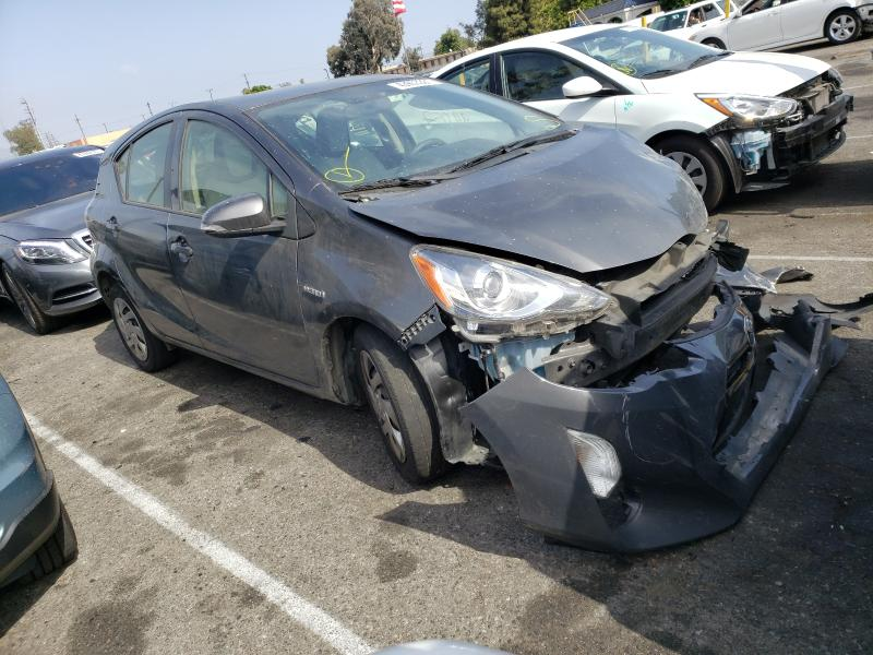 Salvage cars for sale from Copart Van Nuys, CA: 2015 Toyota Prius C